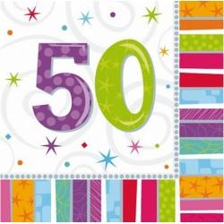 """Serwetki papierowe """"50"""", 16szt"""