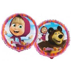 Balon foliowy Masha i niedźwiedź