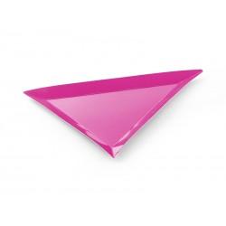 Talerzyki trójkątne POTWORKI, 6szt