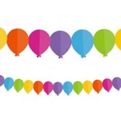 Girlanda papierowa Kolorowe baloniki, 360cm