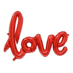 "Balon foliowy ""Napis LOVE"""