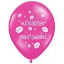 """Balon gumowy 30cm/14"""", Wieczór Panieński różowy, 1szt."""