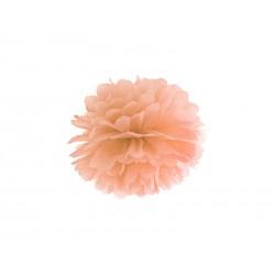 Pompon papierowy j.brzoskwinia, 25cm