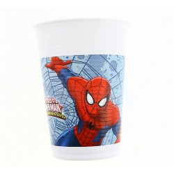 "Kubeczki plastikowe - ""Ultimate Spiderman - Web Warriors"", 8 szt."