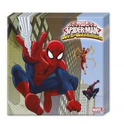 "Serwetki - ""Ultimate Spiderman- Web Warriors "", 20 szt."