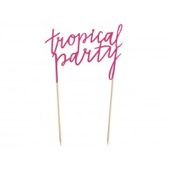 Topper na tort Aloha - Tropical Party