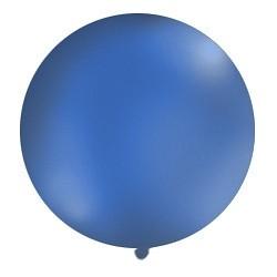 Balon metrowy, 1m, granat