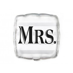 Balon foliowy Mrs. - 43 cm - 1 szt.