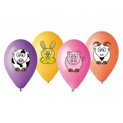 """Balony """"Przyjaciele z farmy"""", 12"""" / 4 szt."""