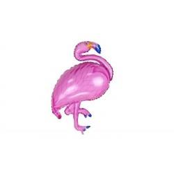 Balon folowy różowy Flaming