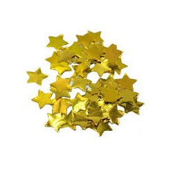 Konfetti foliowe Gwiazdki złote, 20g