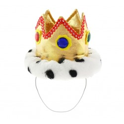 Korona Króla (miękka) na gumce