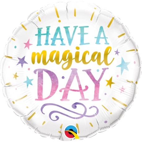 "Balon foliowy 18"" Have a magical day"