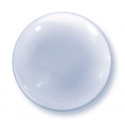 "Balon foliowy 20""  Bubble Deco ""Transparent"""