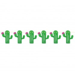 "Girlanda brokatowa ""Kaktusy"", 250 cm"