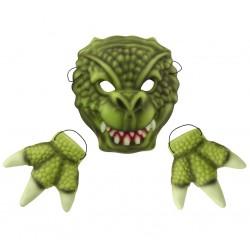 """Maska z pianki """"Groźny Krokodyl"""""""