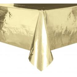 Obrus foliowy, złoty metaliczny