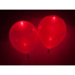 Balony świecące LED czerwone