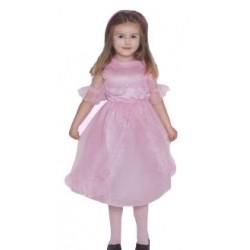 Strój Mała Księżniczka, różowa eko S/104