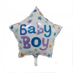 Balon foliowy gwiazdka Baby Boy