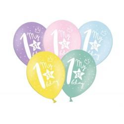 Balony 30cm, My 1st bday, 1szt
