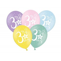 Balony 30cm, My 3rd bday