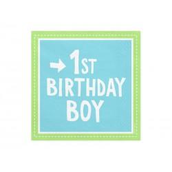Serwetki 1st Birthday Boy