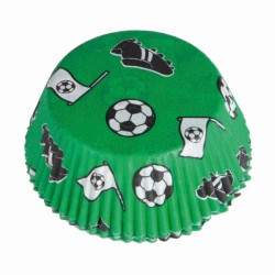 Osłonki na muffinki, piłka nożna