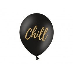 Balony 30cm, Chill, Pastel Black