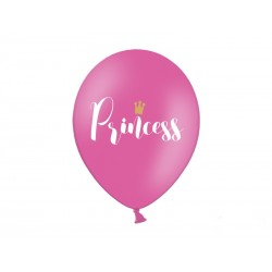 Balon 30cm, Princess, Pastel Hot Pink