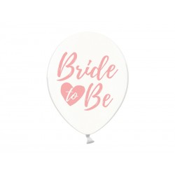 Balo 30cm, Bride to be, Crystal Clear