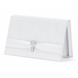Pudełko białe na pieniążki