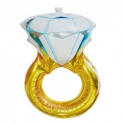 Balon foliowy pierścionek zareczynowy, duży