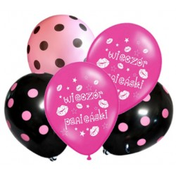 Zestaw 5 balonów na Wieczór Panieński