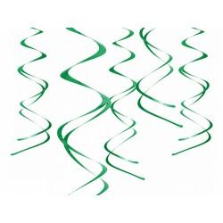 Dekoracje wiszące Świderki, zielony