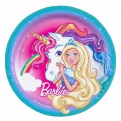 Talerzyki Barbie Dreamtopia 23cm