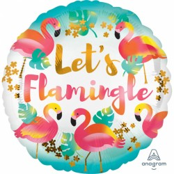 Balon foliowy Let's Flamingle