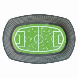 Talerzyki owalne w kształcie boiska, Piłka nożna