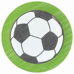 Talerze piłkarskie, Piłka nożna 23cm