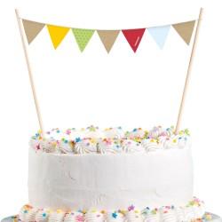 Dekoracja na tort, Lis i Bóbr