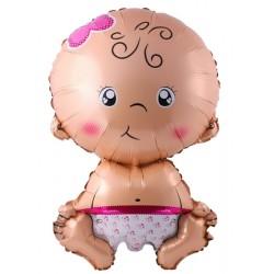 Balon BABY GIRL, 79x49cm