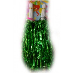 Pompony cheerleaderki, zielone