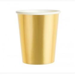 Kubeczki, złoty, 180ml