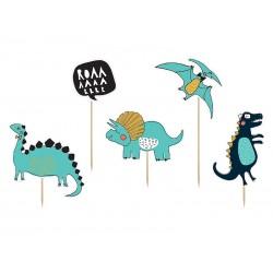 Ozdoba na tort Dinozaury