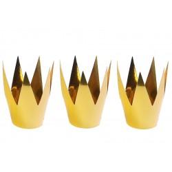 Korona złota, papierowa, 1szt