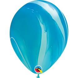 Balon Niebieski Marmurek