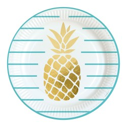 Talerze Pineapple Vibes