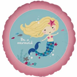 "Balon foliowy ""Be a Mermaid"""