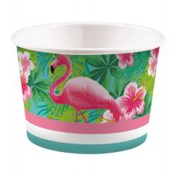Kubeczki na lody Flamingo Paradise
