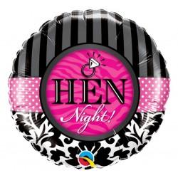Balon foliowy HEN NIGHT na wieczór panieński